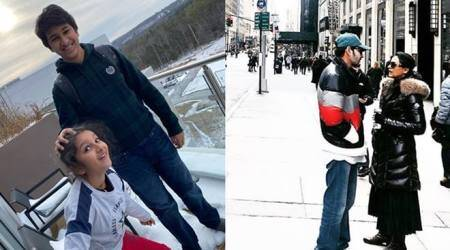 Inside Mahesh Babu's New York vacation
