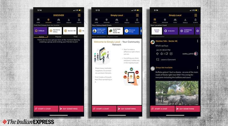 Delhi election, Delhi assembly election, Delhi election 2020, Delhi election February 8, Simply local app, Simply local app election app, Simply local app app store, Simply local app play store