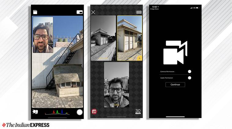 This app allows simultaneous multi-camera shooting from iPhone 11