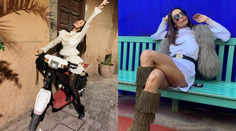 Malaika Arora spends weekend in Morocco