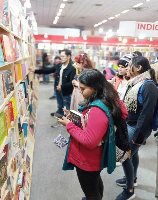 Book Fair, Book Fair 2020, Book Fair Pragati Maidan, Book Fair pics, Delhi Book Fair, Delhi Book Fair 2020, Indian Express, Indian Express news