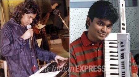 ar rahman throwback photos