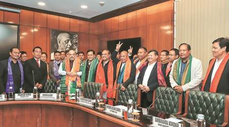 assam pact, bodo outfits, National Democratic Front of Bodoland, centre signs pact with assam, assam news, indian express