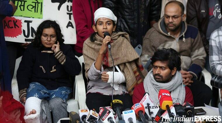 JNU violence: Day after Delhi Police watched mob, not one arrest, no attacker identified
