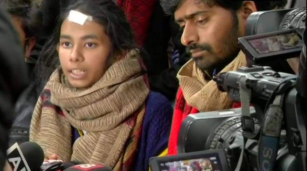 JNU attack: Aishe Ghosh, 8 other masked suspects identified | Image result for aishe ghosh