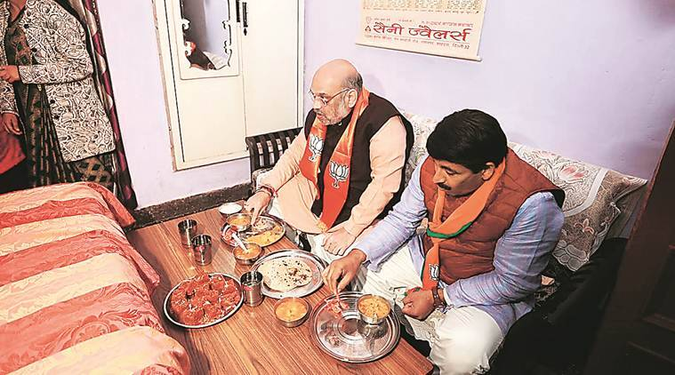 National issues, hyperlocal reach: Amit Shah's capital plan