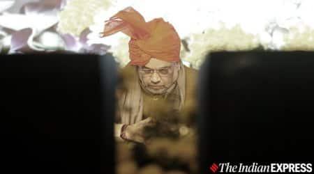 Delhi news, Delhi city news, Delhi AAP BJP, Amit Shah Arvind Kejriwal, JNU violence, indian express news