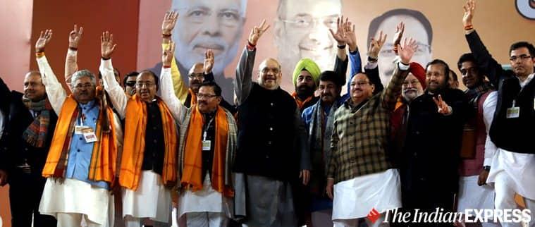 Delhi elections, Delhi elections 2020, Delhi polls 2020, Amit Shah Delhi, Delhi elections Amit Shah, Delhi BJP, Delhi CAA, Delhi AAP CAA, Inidan Express news