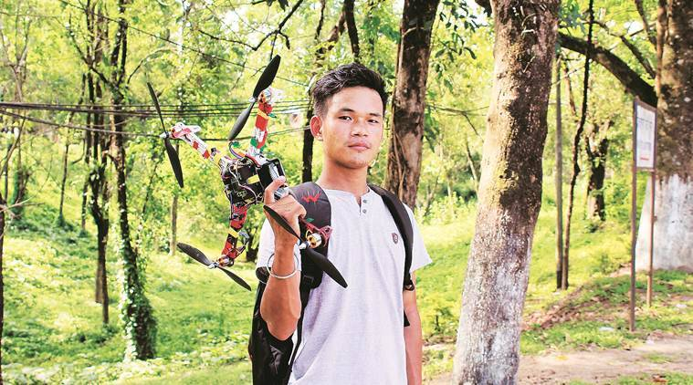 goggles for the blind, Arunachal Pradesh engineering student, Anang Tadar, Serendipity Arts Festival, assam protest, indian express news