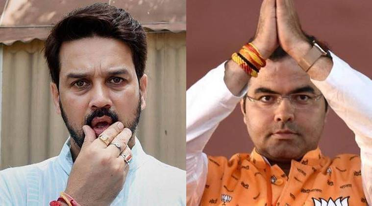 EC to ban Anurag Thakur for 72 hours, Pravesh Verma for 96 hours from campaigning