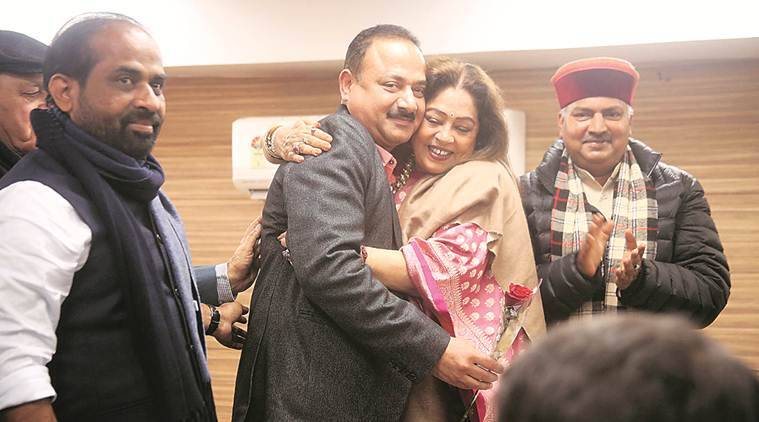 Arun Sood elected Chandigarh BJP chief; Jain, Moudgil missing from ceremony
