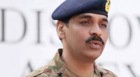 Pakistan news, Pakistan military spokesperson, Babar Iftikhar, Babar Iftikhar Pakistan, Pakistan military Babar Iftikhar, Asif Ghafoor Pakistan military, indian express news