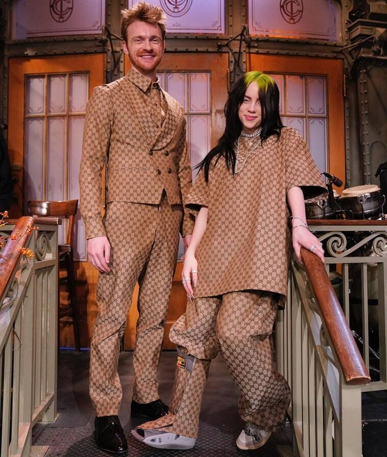 billie and her brother