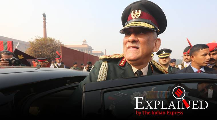 Bipin Rawat, CDS, chief of defence staff, india chief of defence staff, cds, india cds, what is the role of cds, general bipin rawat, general bipin rawat cds, indian express explained