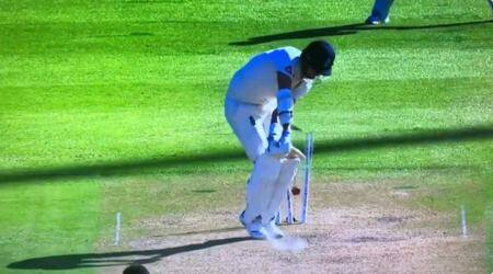 Stuart Broad, Stuart Broad funny dismissal, Stuart Broad Kagiso Rabada, Stuart Broad batting, funny cricket dismissals, South Africa vs England 2nd Test, Stuart Broad Varun Aaron