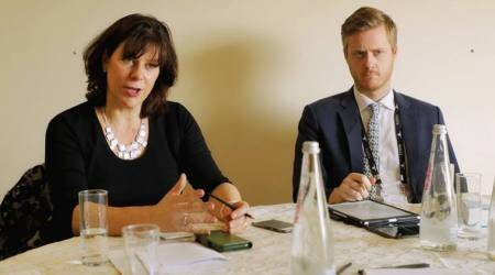Climate change, CPO26, COP26 president Claire Perry O'Neill, Claire Perry O'Neill on Climate chnage, Climate change india, Indian express