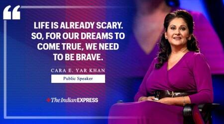 Life Positive, fear and courage, Indian Express, Indian Express news