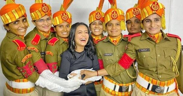 neha kakkar on republic day