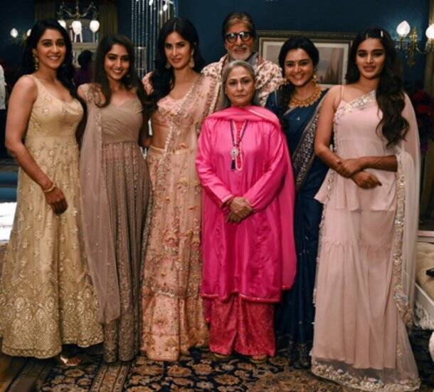 amitabh bachchan with katrina kaif, manju warrior