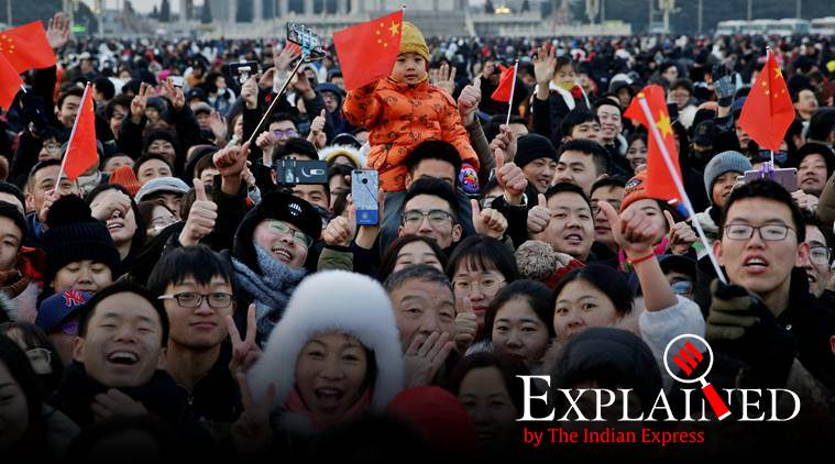 Explained: What China's lowest birth rate says about the country's one-child policy - The Indian Express thumbnail