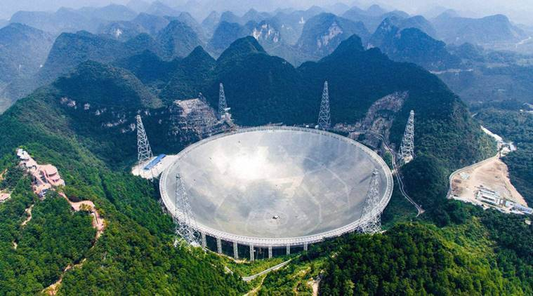 China telescope, China FAST telescope, FAST telescope China, Science news Indian Express news