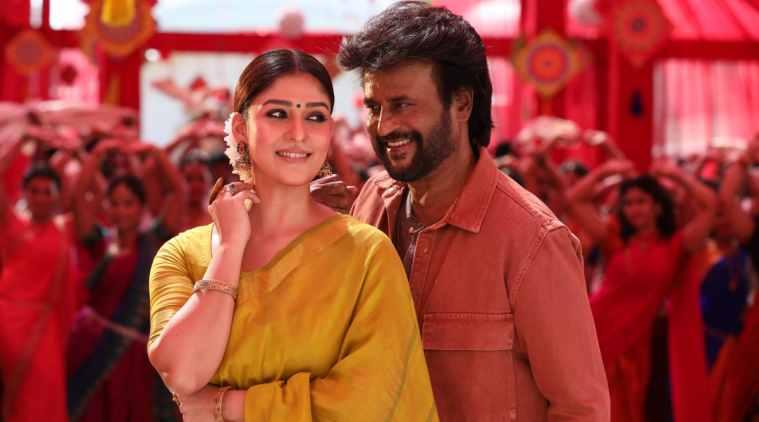 Nayanthara and Rajinikanth