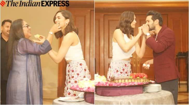Deepika Padukone celebrates birthday with media ...