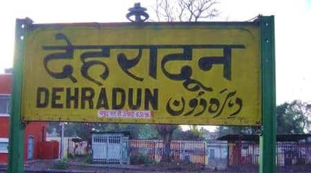 Urdu India, India Urdu language, Urdu Sanskrit sign boards, Indian Railways signboards, Urdu sanskrit language india, indian express