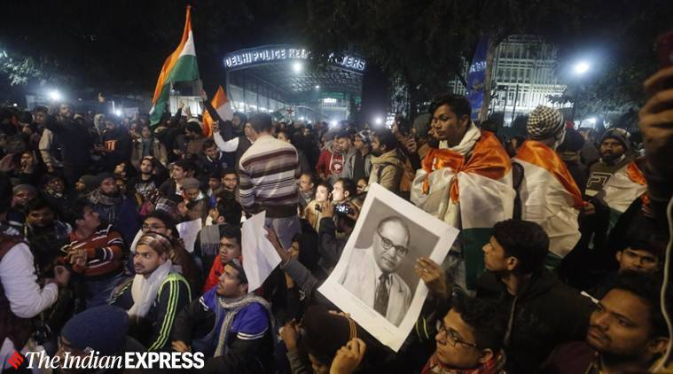 Delhi, Delhi city news, Delhi JNU violence, JNU violence ABVP, JNUSU, JNU protest, Indian Express news