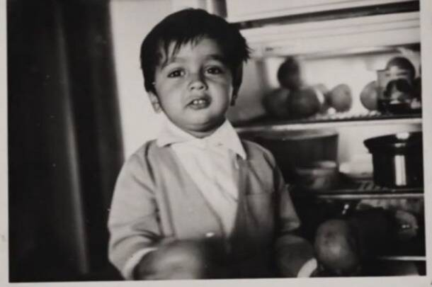 Dravid child