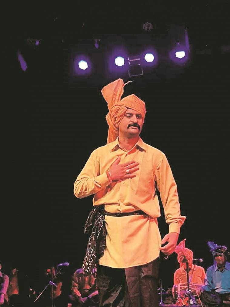 Bundeli folk theatre, Bundelkhand folk tradition of swang, theatre in India, Raja Mansingh Tomar Music and Art University, Himanshu Dwivedi, indian express news