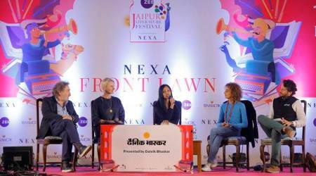 Eat, Pray, Love, City of Girls, Elizabeth Gilbert, books, Elizabeth Gilbert books, books by Elizabeth Gilbert, Jaipur Literature Festival, Indian Express, Indian Express news