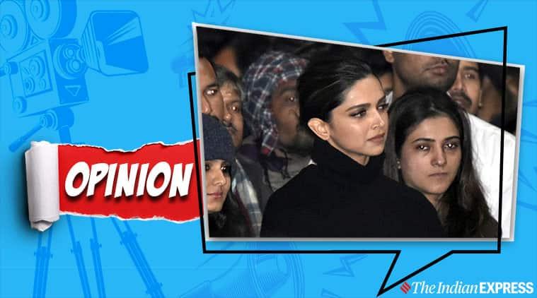 Deepika Padukone at JNU