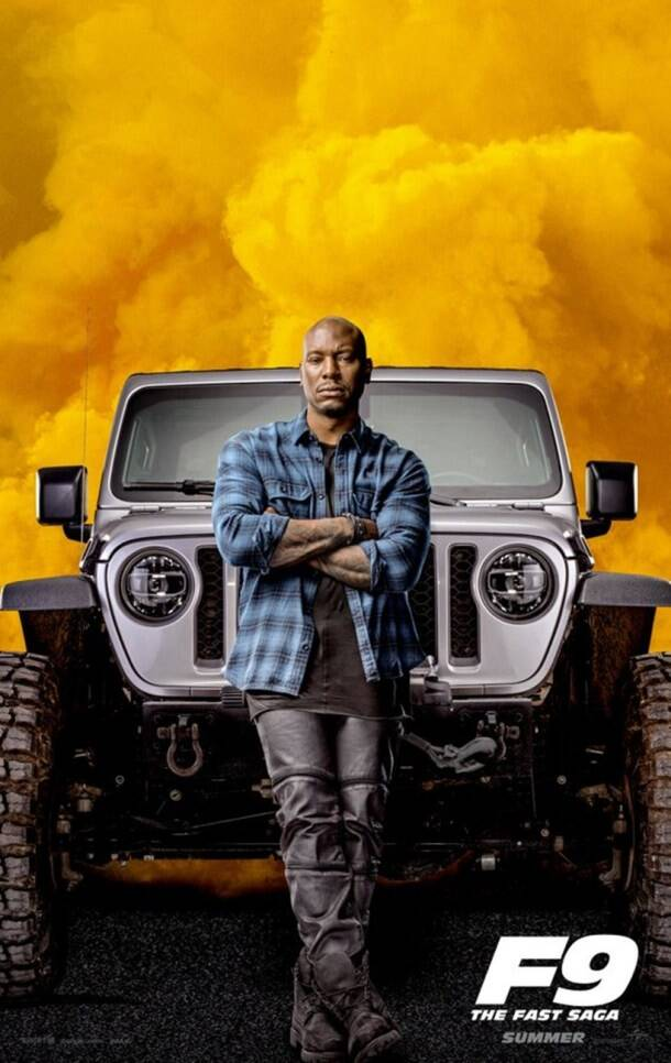 Tyrese Gibson in Fast & Furious 9