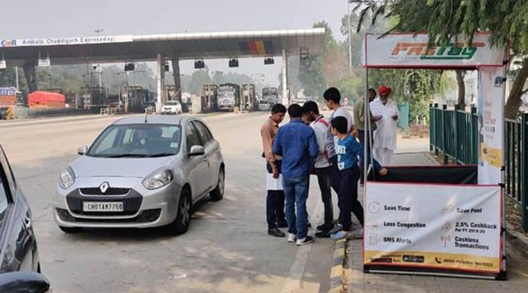 FASTags, FASTags toll booth, what are FASTags, chandigarh city news