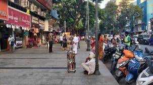 Street vendors turn Chennai's own New York Square into a 'pedestrian-unfriendly' place