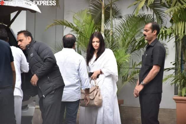 aishwarya rai Ritu Nanda funeral