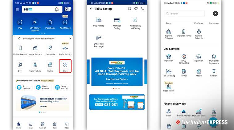 fastag account balance, how to check fastag account balance, fastag wallet, fastag