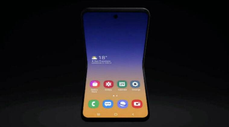 samsung, galaxy z flip, galaxy z flip foldable phone, galaxy fold 2, galaxy bloom, samsung unpacked 2020