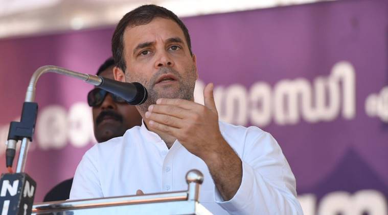 Rahul Gandhi likens Modi to Godse, says a coward can never look at the truth