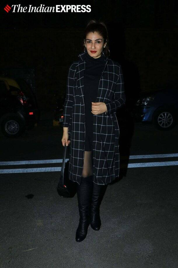 raveena tandon at Goldie Behl birthday party