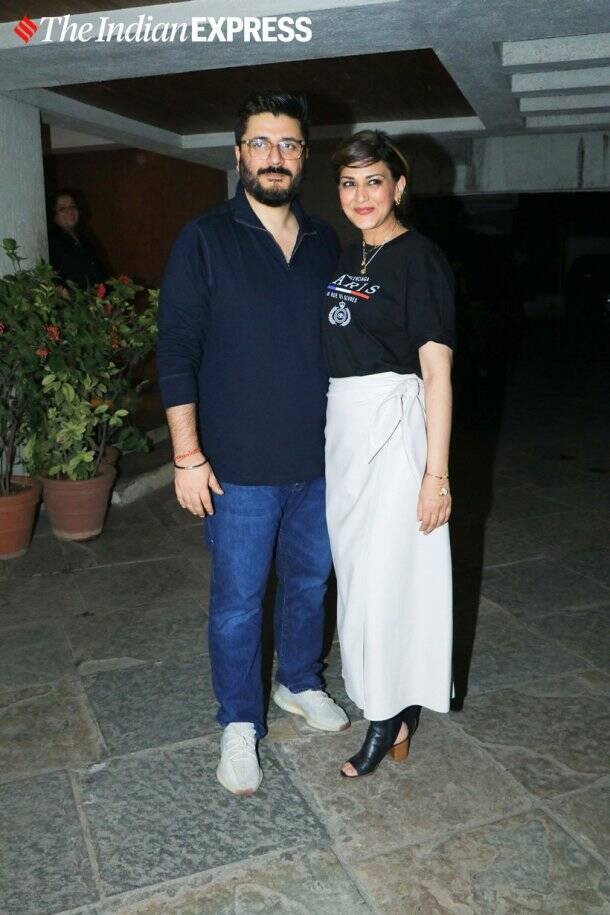 Sonali Bendre Goldie Behl birthday party