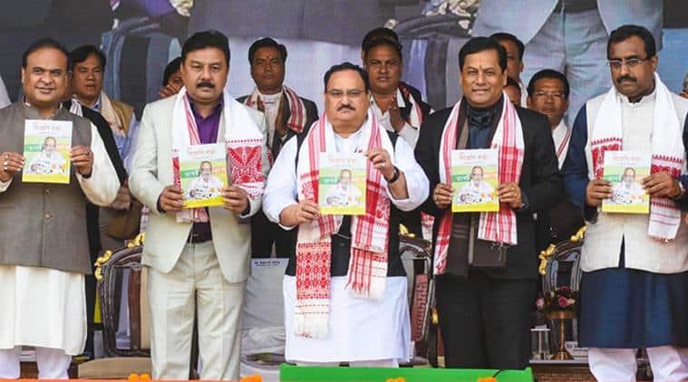 Assam news, Assam BJP, Assam CAA protest, Assam Himanta Biswa, Assam BJP news, Assam elections, indian express