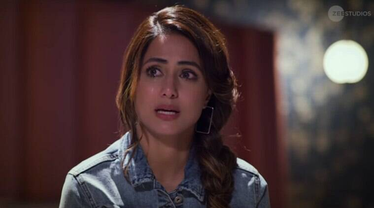 Hina Khan in Hacked film Vikram Bhatt