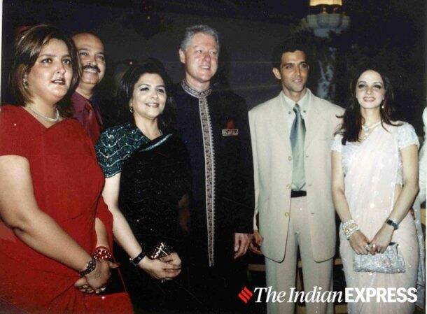 Hrithik Roshan bill clinton