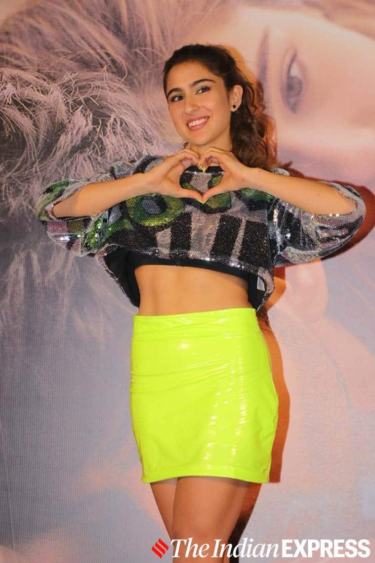 sara ali khan, sara ali khan love aaj kal, sara ali khan love aaj kal movie, love aaj kal trailer, sara ali khan fashion ,sara ali khan latest photos, celeb fashion ,indian express, lifestyle