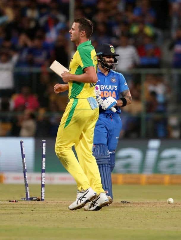 Rohit Sharma 119, Virat Kohli 5000 ODI runs captain, Virat Kohli 7000 ODI runs chase, Rohit Sharma 9000 ODI runs, India vs Australia 3rd ODI, IND vs AUS 3rd ODI, India vs Australia 2020