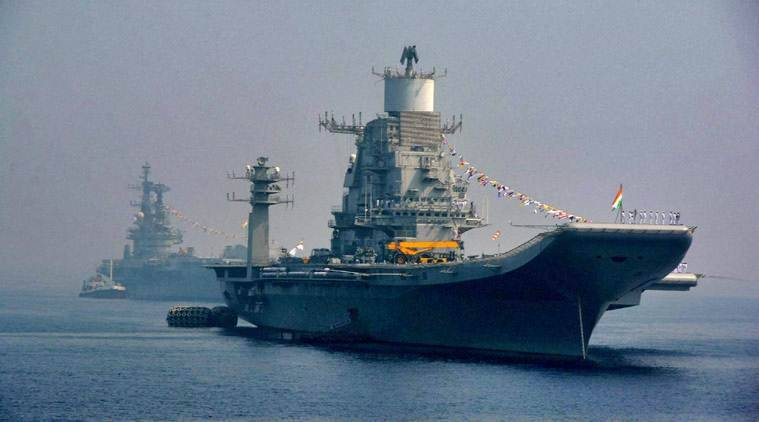 INS Vikramaditya, INS Vikramaditya  Arabian Sea, Pakistan China sea drill, Indian navy INS Vikramaditya, indian express news