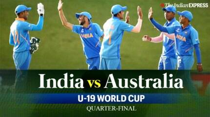 U19 WC: India vs Australia quarterfinals LIVE Updates