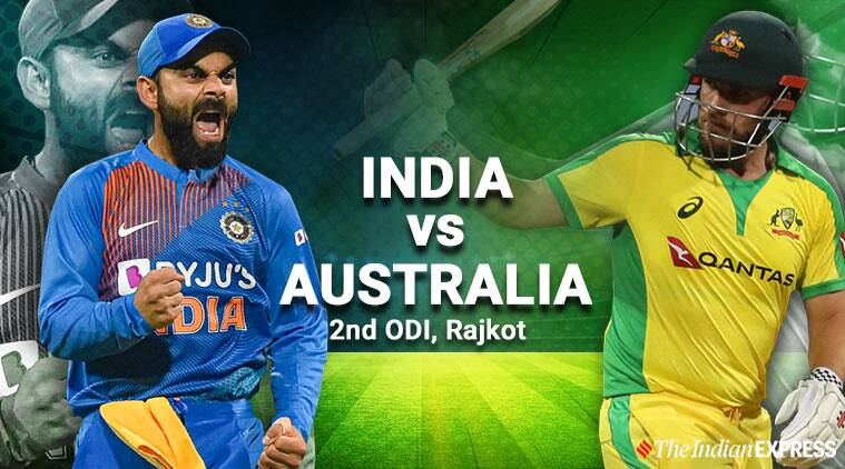 India vs australia 2nd odi live cricket score updates